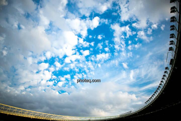 Himmel, Wolken, Ernst Happel Stadion