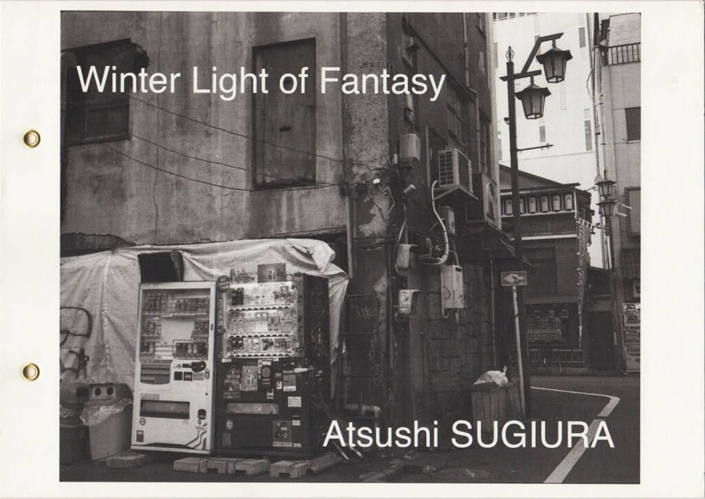 Atsushi Sugiura - Winter Light of Fantasy, Self published 2015, Cover - http://josefchladek.com/book/atsushi_sugiura_-_winter_light_of_fantasy, © (c) josefchladek.com (26.06.2015)