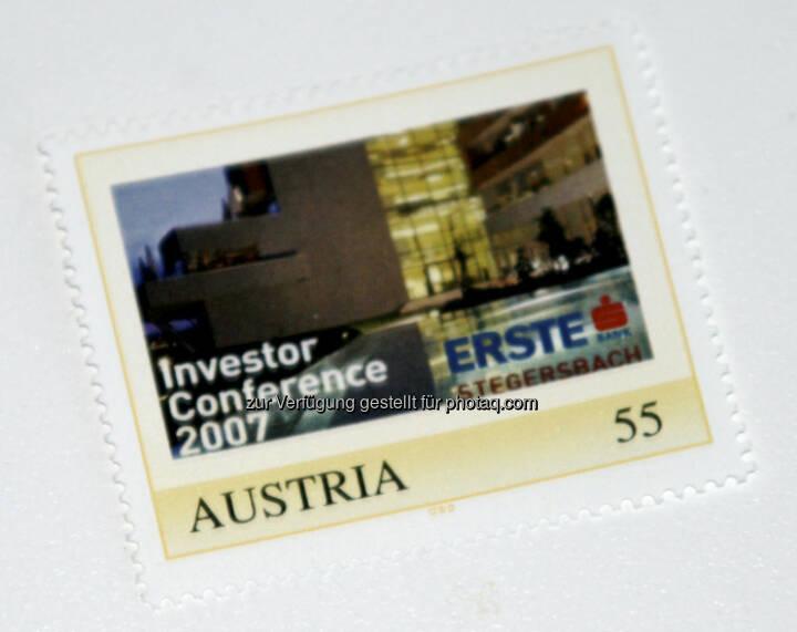 Erste Group: Die Marke zur Investor Conference in Stegersbach