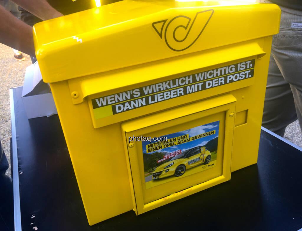 Postkasten Mission Susi Österreichische Post #missionsusi (28.06.2015)