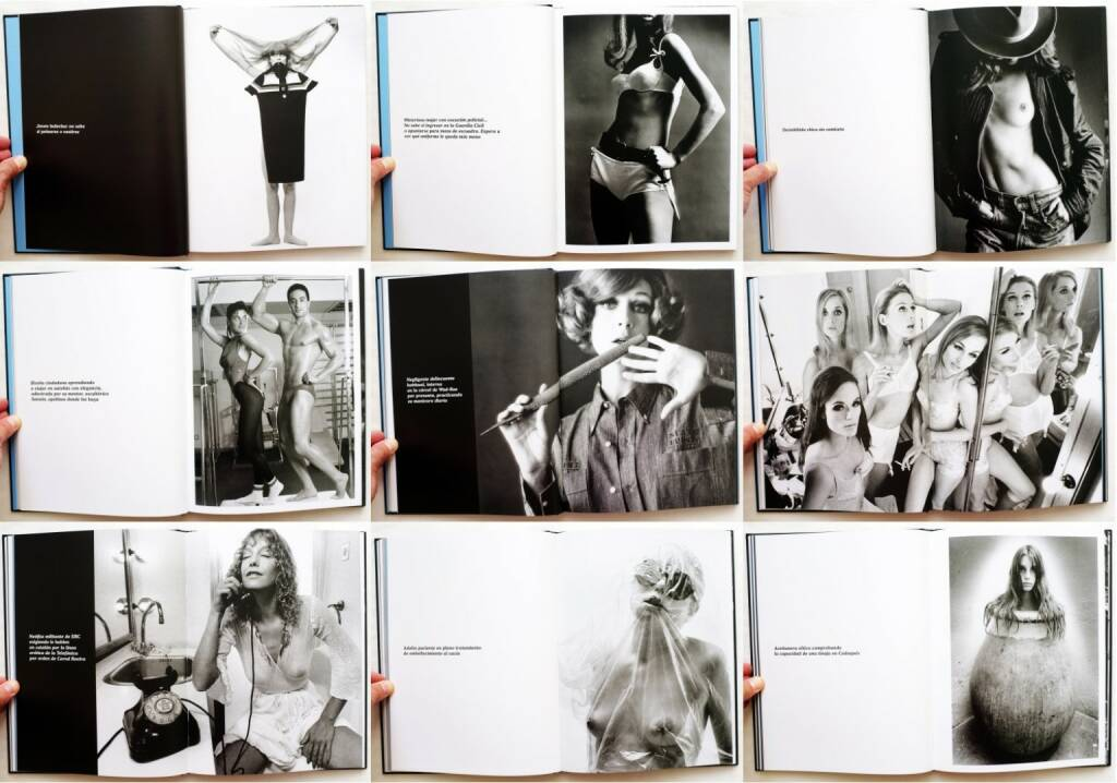 Oriol Maspons - The Private Collection, La Fabrica 2006, Beispielseiten, sample spreads - http://josefchladek.com/book/oriol_maspons_-_the_private_collection, © (c) josefchladek.com (29.06.2015)