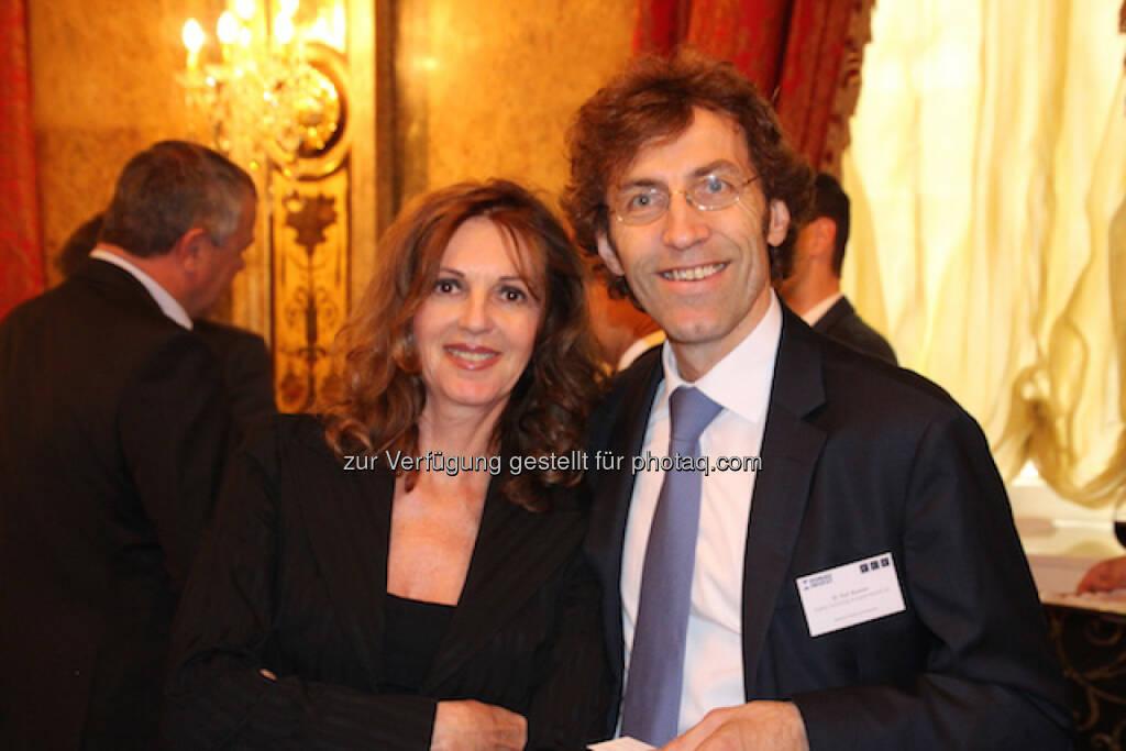 Sabine Duchaczek (Advantage Strategy & Finance), Karl Asamer (AT&S AG), © Aussender (29.06.2015)