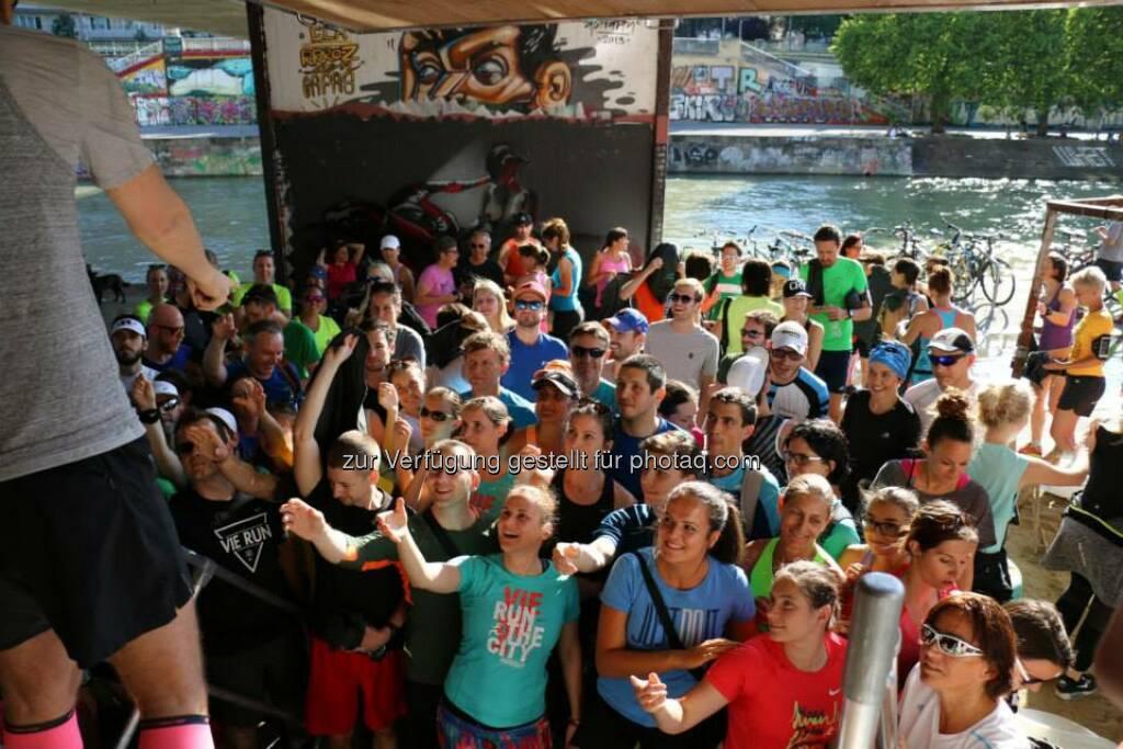 Brooks Run Happy Tour Wien - Mit Victorine Kulier (Bild: Brooks Running), © Brooks (29.06.2015)