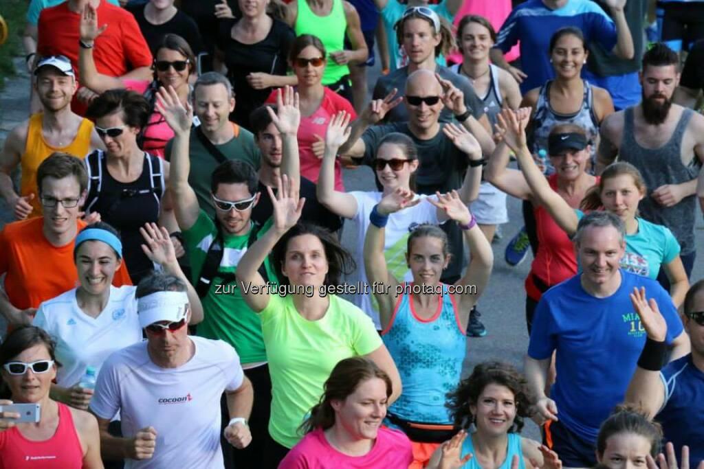 Brooks Run Happy Tour Wien - Mit Kers Tinchen (Bild: Brooks Running), © Brooks (29.06.2015)