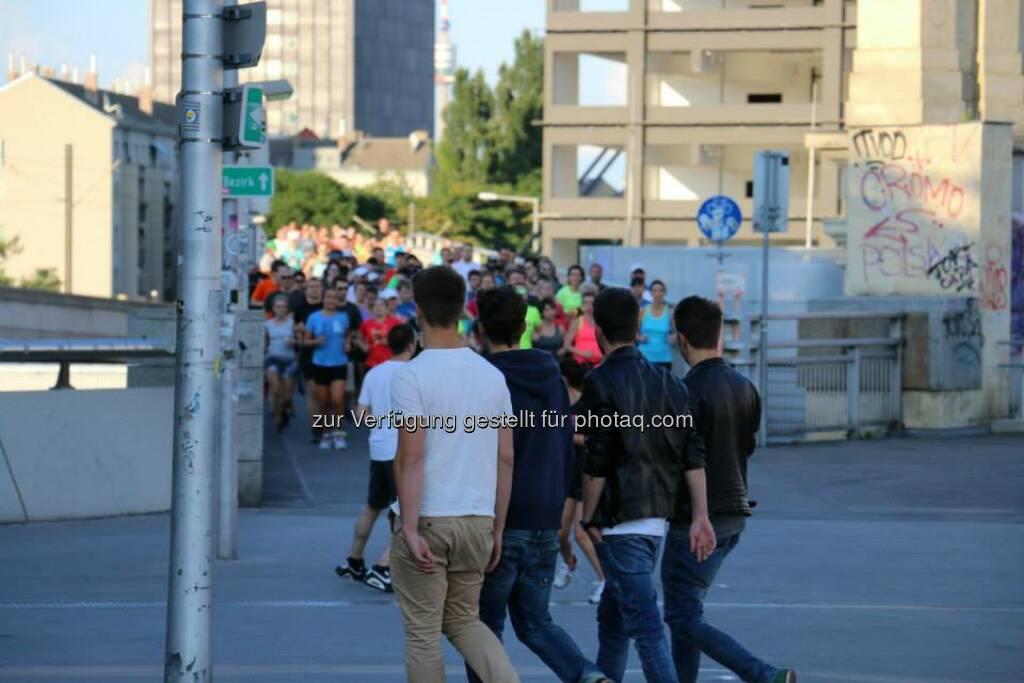 Brooks Run Happy Tour Wien - Mit Kris Si, Victorine Kulier (Bild: Brooks Running), © Brooks (29.06.2015)