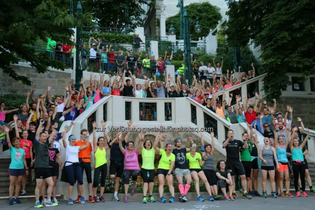 Brooks Run Happy Tour Wien - Mit Victorine Kulier, Kers Tinchen, Nadine Dlouhy, Alicia Eliskases, Xiaoshu Alice Hu (Bild: Brooks Running), © Brooks (29.06.2015)