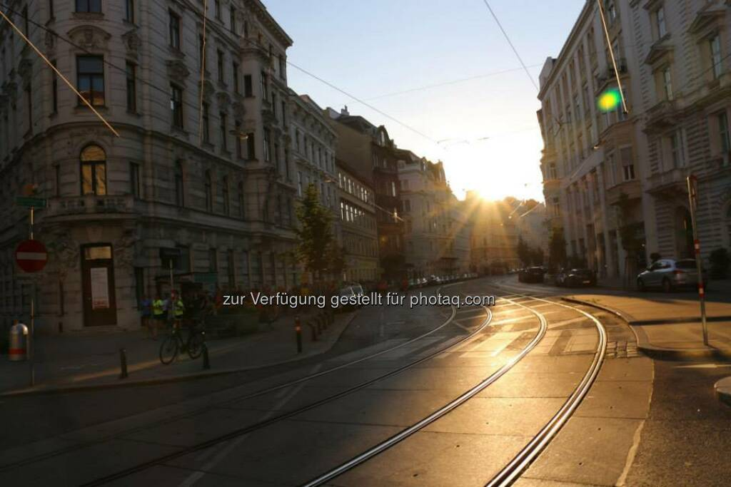 Porzellangasse - Brooks Run Happy Tour Wien, © Brooks (29.06.2015)