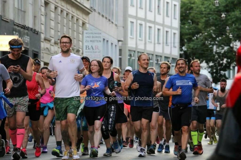 Brooks Run Happy Tour Wien - Mit Tom Sawyer (Bild: Brooks Running), © Brooks (29.06.2015)