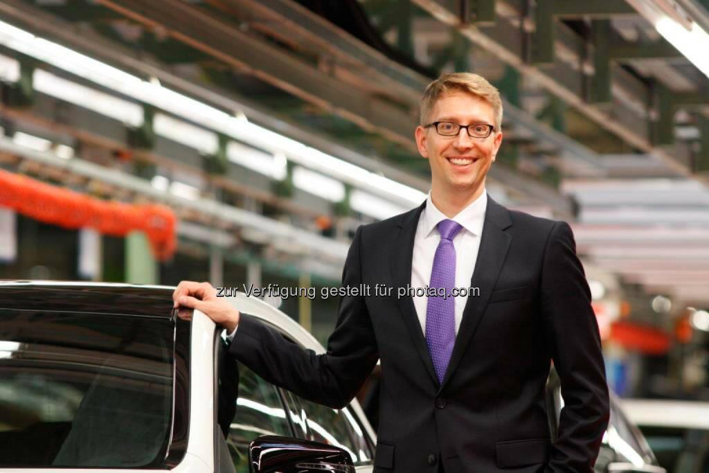 Stefan Abraham, Standortverantwortlicher Mercedes-Benz Werk Rastatt: Mercedes-Benz Werk Rastatt erhält Zusage für nächste Kompaktwagen-Generation und investiert eine Milliarde Euro (C) Mercedes, © Aussendung (30.06.2015)