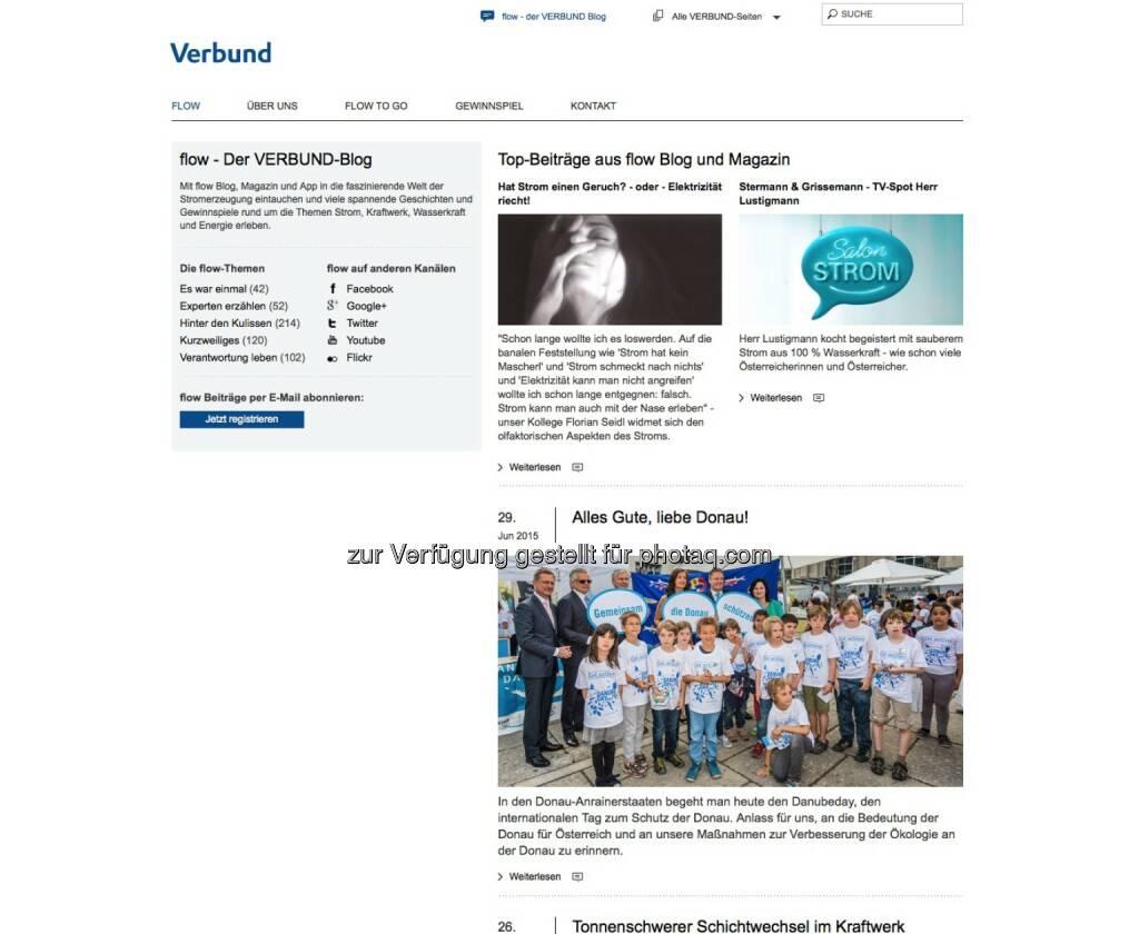 Verbund - http://www.verbund.com/bg/de/blog, © beigestellt (30.06.2015)