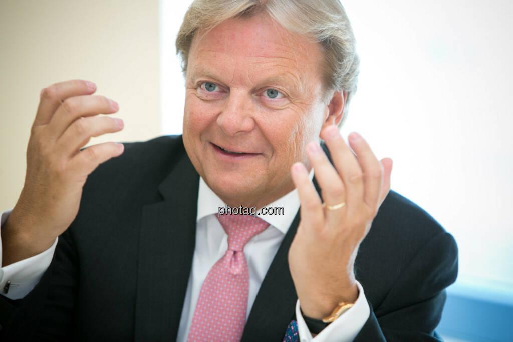 Bernhard Ramsauer, Semper Constantia Privatbank, © photaq/Martina Draper (01.07.2015)