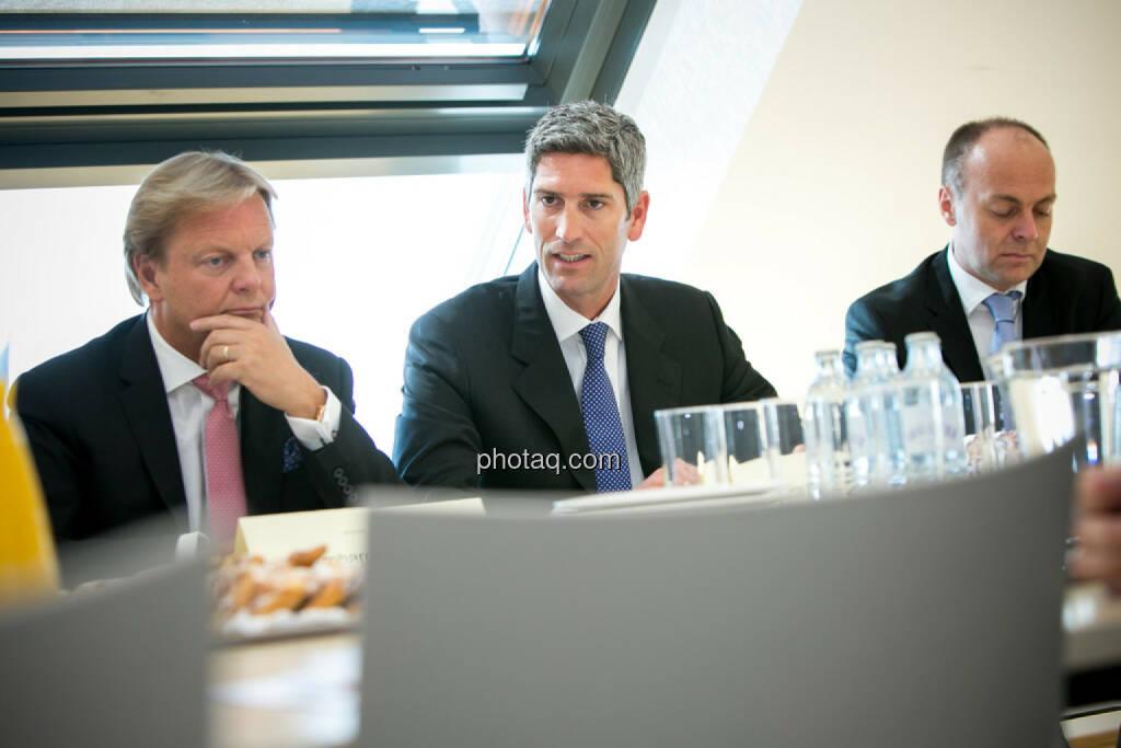Bernhard Ramsauer, Dietmar Baumgartner, Harald Friedrich, Semper Constantia Privatbank, © photaq/Martina Draper (01.07.2015)