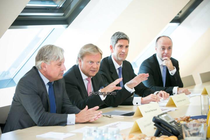 Ullrich Kallausch, Bernhard Ramsauer, Dietmar Baumgartner, Harald Friedrich, Semper Constantia Privatbank