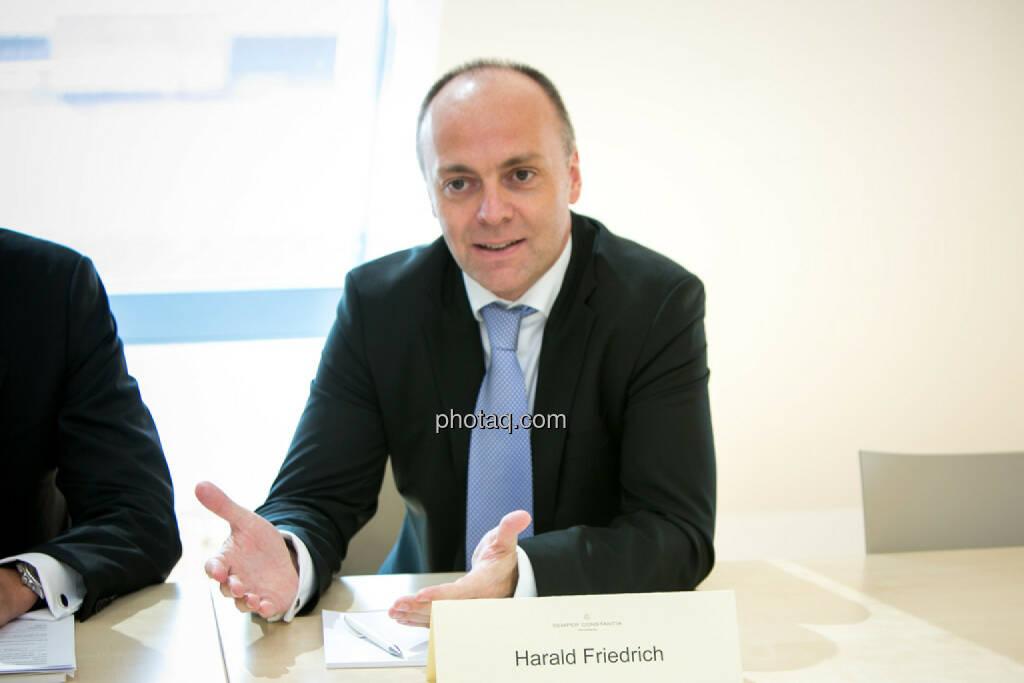 Harald Friedrich, Semper Constantia Privatbank, © photaq/Martina Draper (01.07.2015)