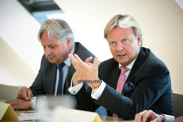 Ullrich Kallausch, Bernhard Ramsauer, Semper Constantia Privatbank