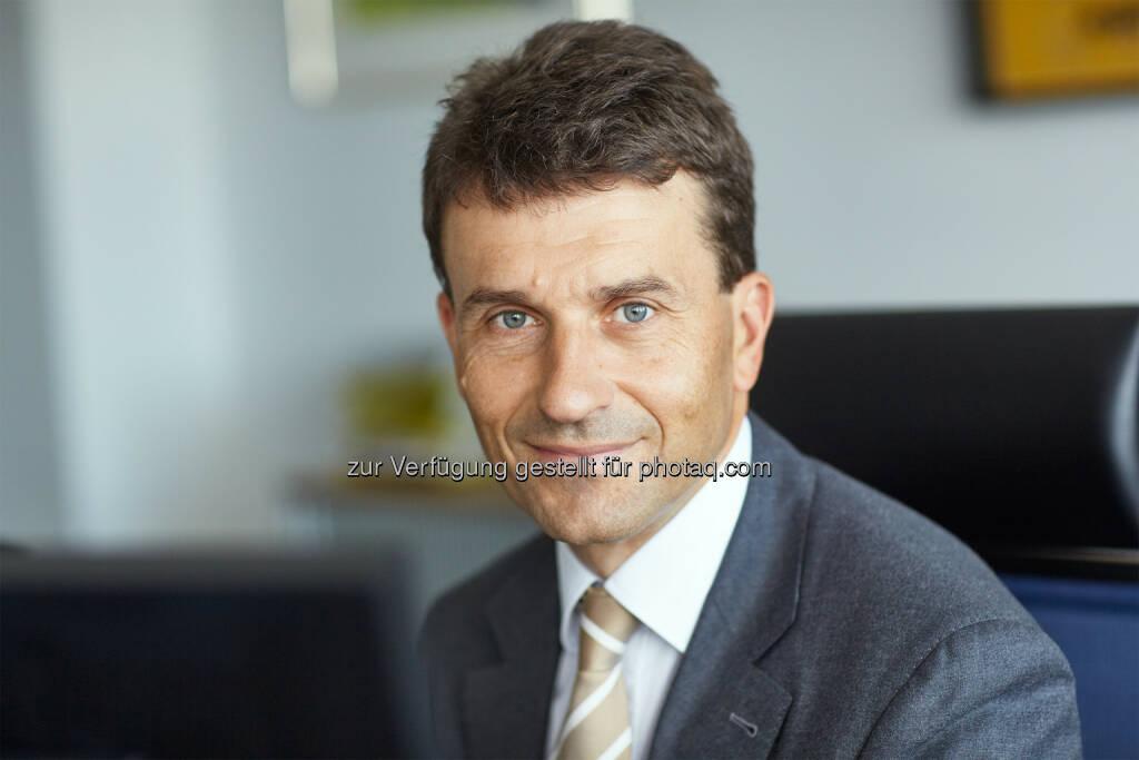 Stefan Ehrlich-Adám, EVVA-Geschäftsführer und Obmann der Sparte Industrie der Wirtschaftskammer Wien, ist neuer Vizepräsident von Austrian Standards. (Bild: T.M. Laimgruber), © Aussender (03.07.2015)