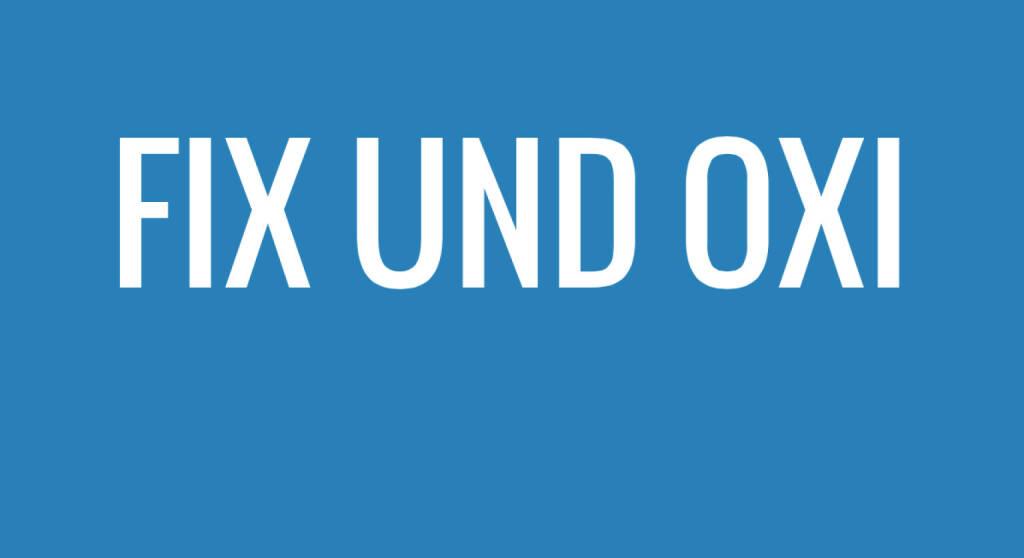 Fix und Oxi (06.07.2015)