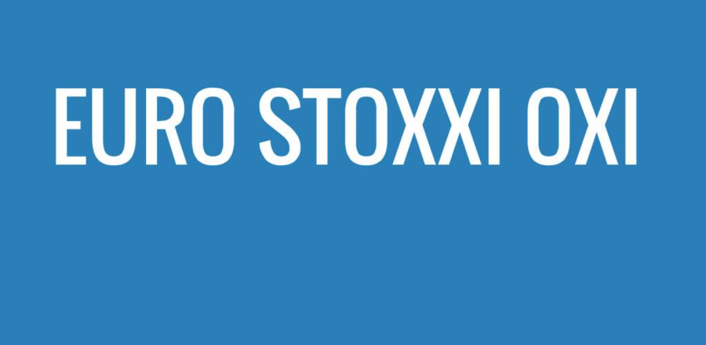 Euro Stoxxi Oxi (06.07.2015)