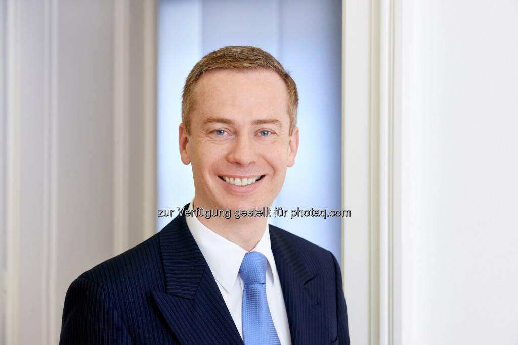 Dietmar Schantl-Ransdorf ist neuer Bereichsleiter Marktmanagement in der Zürcher Kantonalbank Österreich AG. (C) ZKB Österreich, © Aussender (06.07.2015)