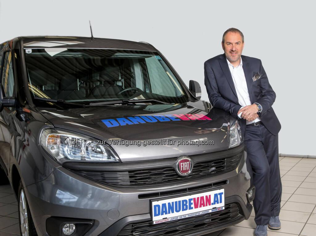 Wolfgang Kugler, Vertriebschef von DanubeVan: DanubeDrive erweitert Nutzfahrzeugpalette um Fiat Professional (C) Danube Van, © Aussendung (08.07.2015)