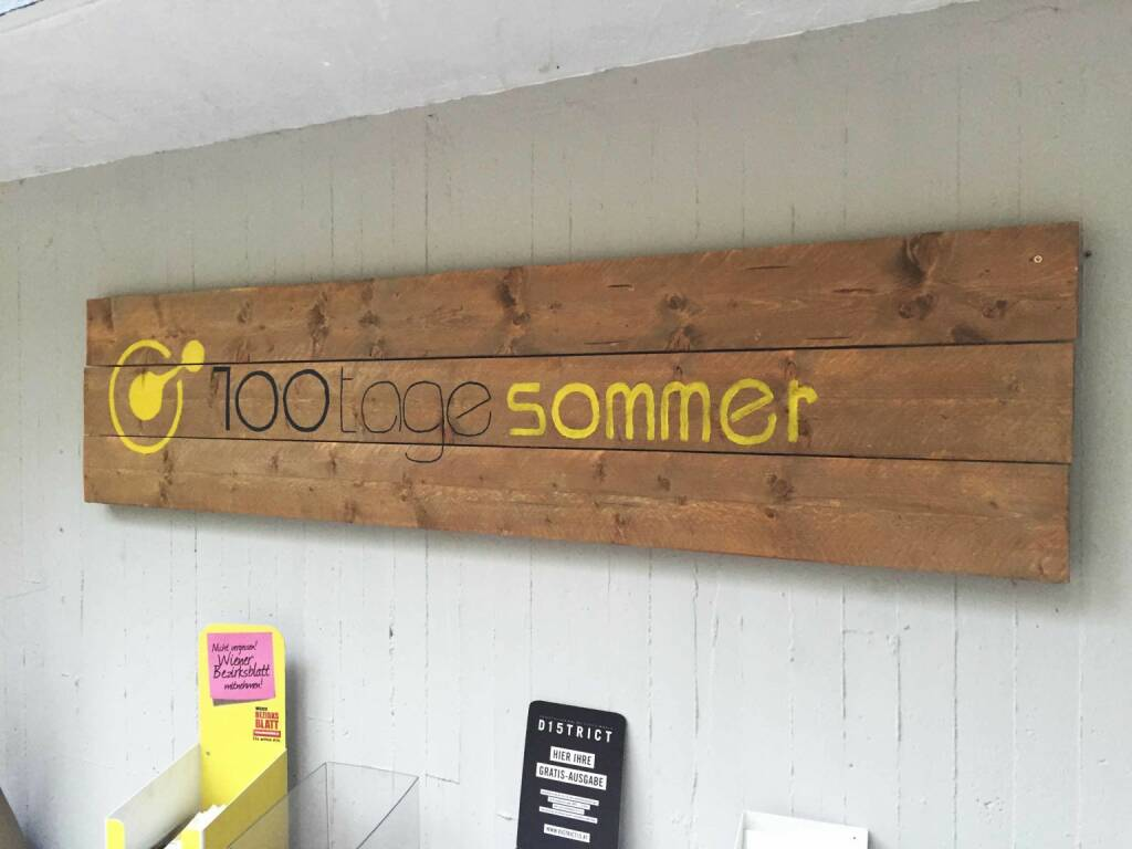 100 Tage Sommer (08.07.2015)