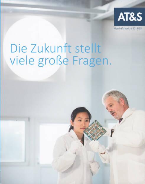 AT&S Geschäftsbericht 2014/15 http://boerse-social.com/financebooks/show/ats_geschaftsbericht_201415 (09.07.2015)