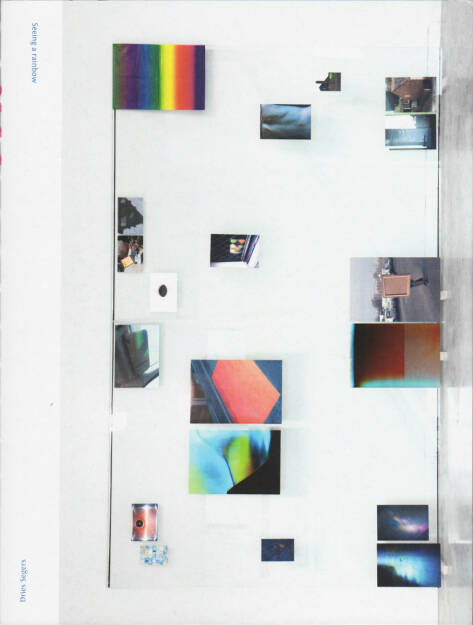 Dries Segers - Seeing a rainbow, Self published 2015, Cover - http://josefchladek.com/book/dries_segers_-_seeing_a_rainbow, © (c) josefchladek.com (10.07.2015)