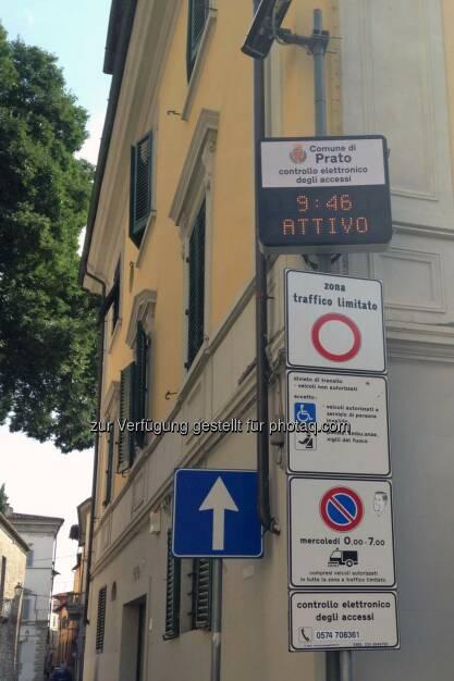 Der österreichische Spezialist für Intelligent Transportation Systems installiert neues automatisiertes Zufahrtssystem in Prato (Toskana). ©Municipality of Prato, © Aussendung (10.07.2015)