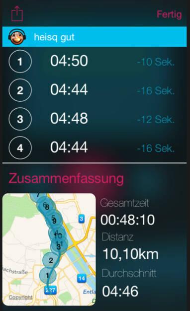 Allererste Map mit Runmoji - dafür gleich mit Tippfehler (wegen Hitze) (12.07.2015)