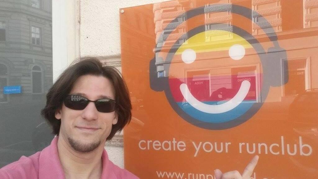 Lukas Jersabek, SPÖ Alsergrund, ist Obmann des 1. Vereins in der Runplugged Runclub Era - Alsergrund Runplugged Runners (12.07.2015)