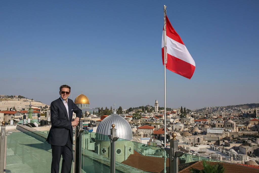 Staatsekretär Harald Mahrer in Israel © bmwfw (13.07.2015)