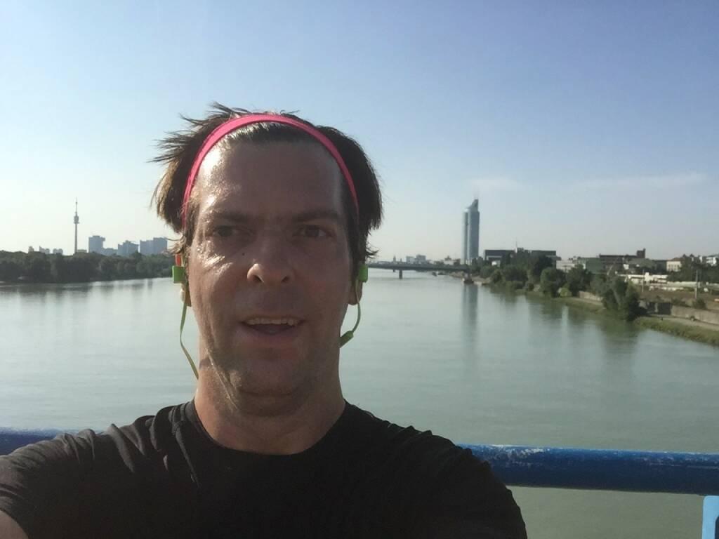 Jochen Gold über der Donau (13.07.2015)