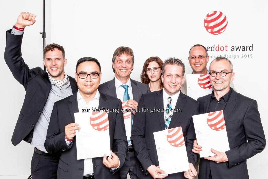 Festo: Fünf Auszeichnungen für Festo beim Red Dot Design Award 2015. (C) Festo, © Aussendung (13.07.2015)