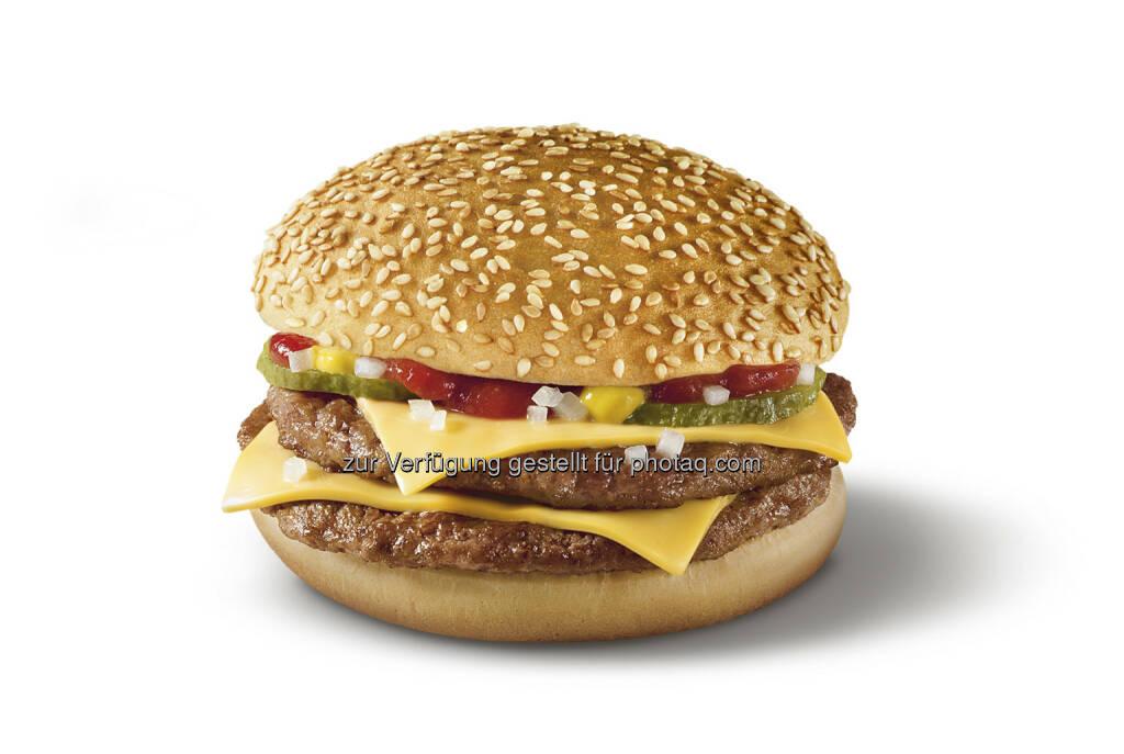 Glutenfreie Burger bei McDonald's Österreich : © McDonald's Österreich, © Aussender (13.07.2015)