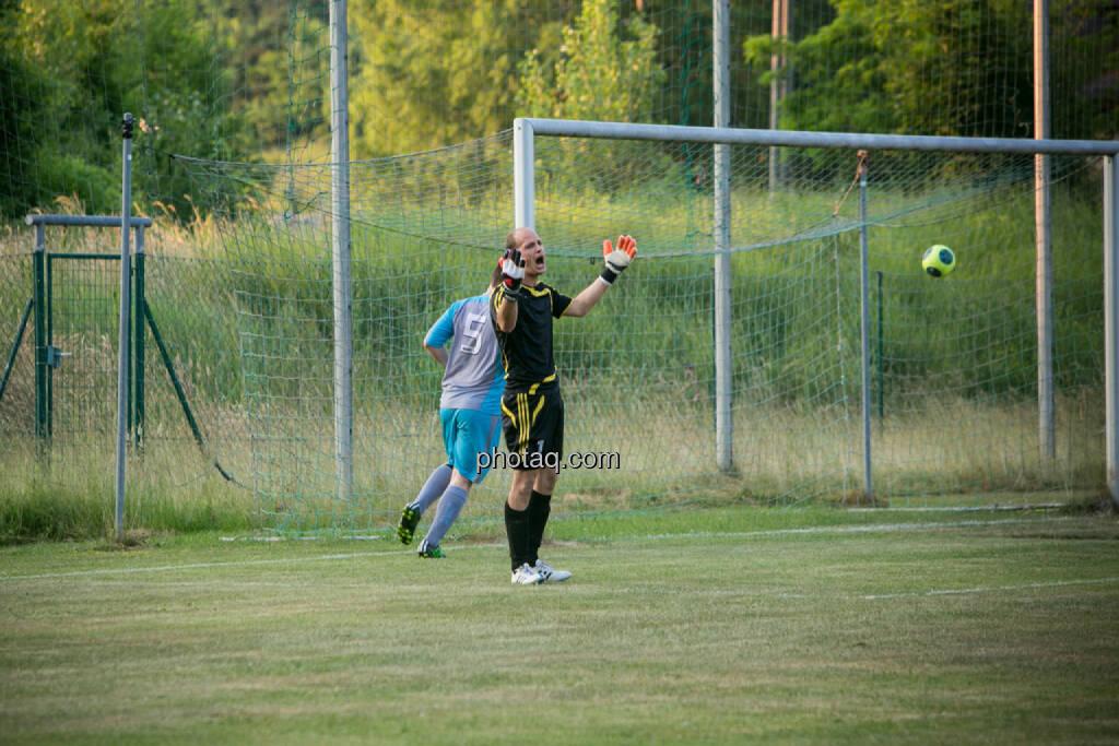SC Alland - USC Rogner Bad Blumau, Tor, Ärger, Frust, © photaq/Martina Draper (14.07.2015)