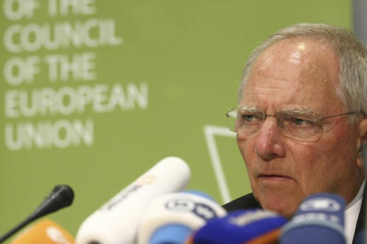 Wolfgang Schäuble, Finanzminister, Deutschland, Griechenland, <a href=http://www.shutterstock.com/gallery-699223p1.html?cr=00&pl=edit-00>YiAN Kourt</a> / <a href=http://www.shutterstock.com/editorial?cr=00&pl=edit-00>Shutterstock.com</a>, YiAN Kourt / Shutterstock.com
