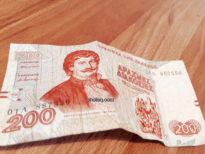 Griechenland, Drachme, Drachmen, 200