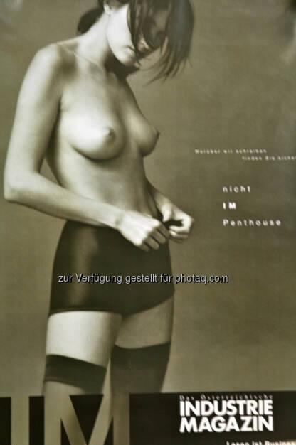 Industriemagazin mit mutiger Werbung, Jahre her (11.03.2013)