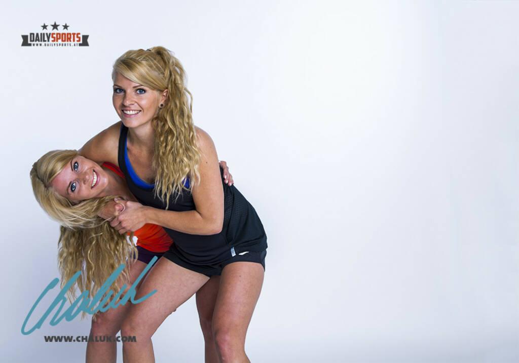 Kampf Fight Duell - Mirneta und Mirnesa Becirovic für Daily Sports, mit freundlicher Genehmig von chaluk.com, © Aussendung (15.07.2015)