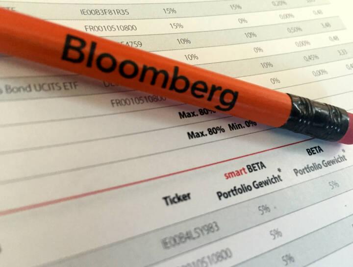 Bloomberg Bleistift Notiz iQ Foxx