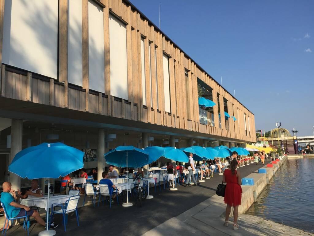 Copa Beach, Donauinsel, Restaurant, Promenade (17.07.2015)