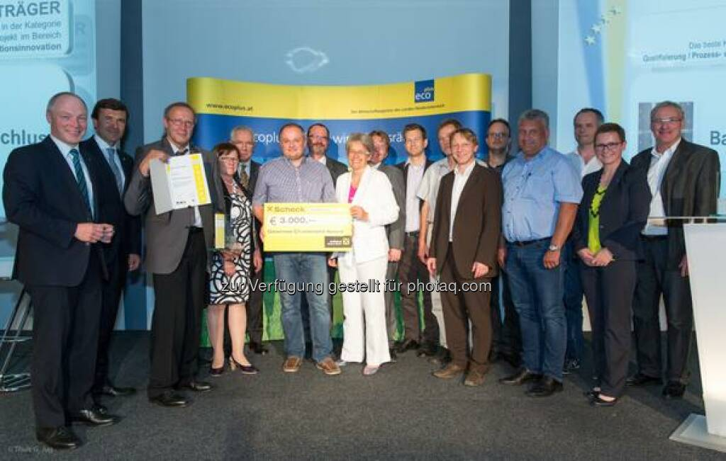 Wienerberger wins Lower Austrian #Clusterland award in the category Process & Organisation-Innovation http://twitter.com/wienerberger/status/621972756557656064/photo/1  Source: http://facebook.com/wienerberger, © Aussendung (17.07.2015)