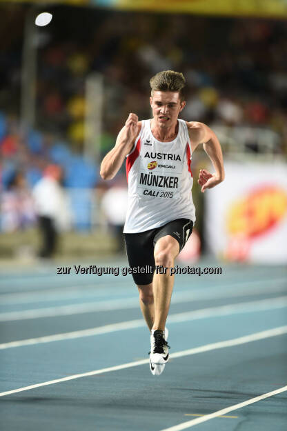 Max Münzker, 100m (Bild: ÖLV/Jiro Mochizuki) (17.07.2015)