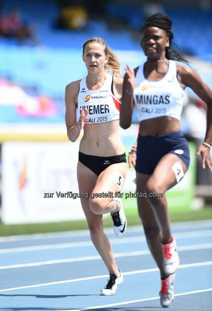 Ina Huemer, 100m (Bild: ÖLV/Jiro Mochizuki) (17.07.2015)