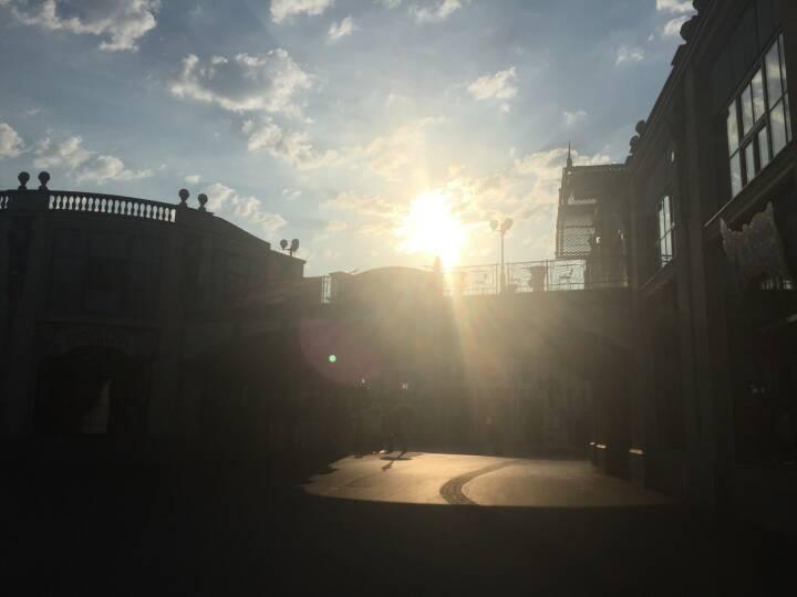 Sonnenaufgang, Wiener Prater