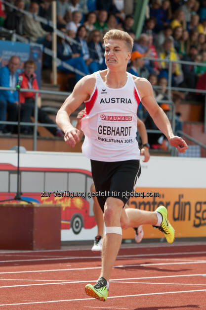 Mario Gebhardt, 400m (Bild: ÖLV/Coen Schilderman) (18.07.2015)