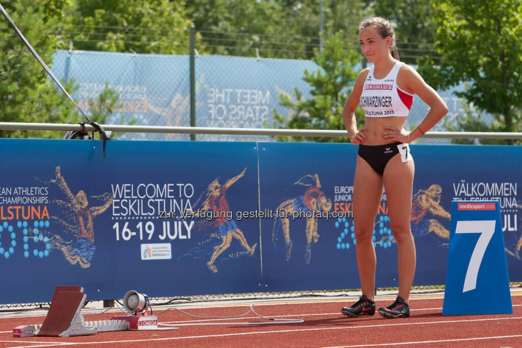 Julia Schwarzinger, 400m (Bild: ÖLV/Coen Schilderman) (18.07.2015)