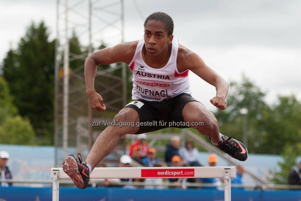 Dominik Hufnagl, 400m Hürden (Bild: ÖLV/Coen Schilderman) (18.07.2015)