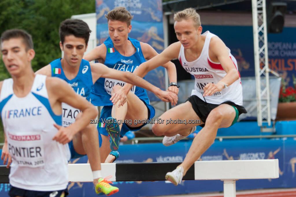 Luca Sinn, 3000m Hindernis (Bild: ÖLV/Coen Schilderman) (18.07.2015)