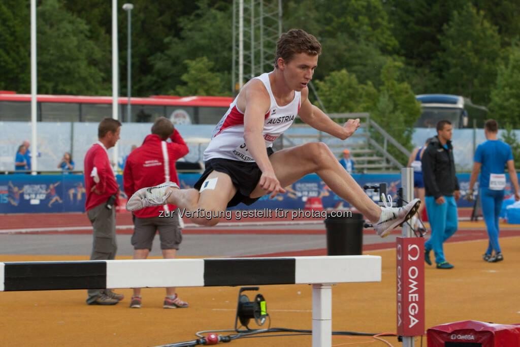 Paul Stüger, 3000m Hindernis (Bild: ÖLV/Coen Schilderman) (18.07.2015)